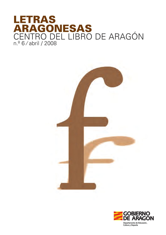 Letras Aragonesas f by Rafael Artal - issuu