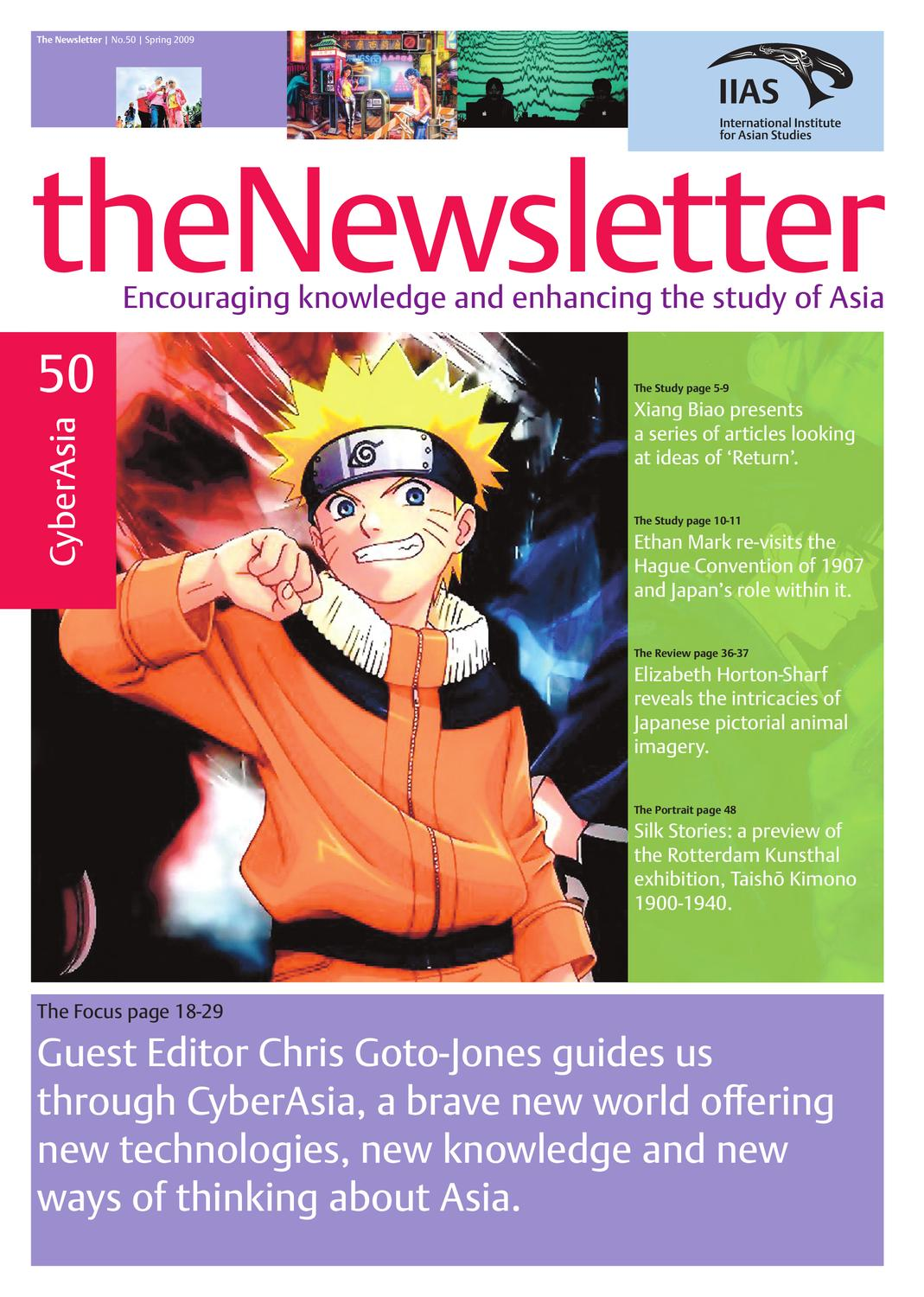 The Newsletter 50 by International Institute for Asian