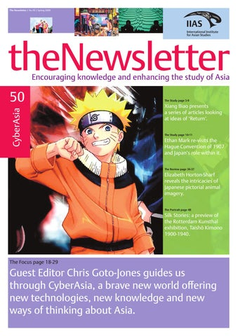 The Newsletter 50 by International Institute for Asian Studies - issuu