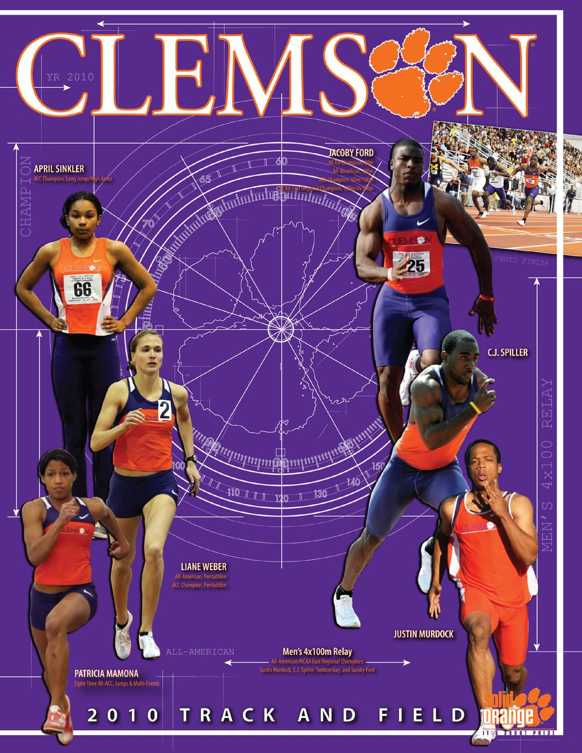 2009-10 Clemson Track & Field Media Guide by Clemson Tigers - issuu