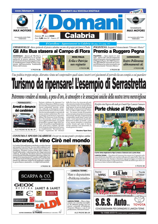 il domani by T P Editori il Domani - issuu 4da11d14247