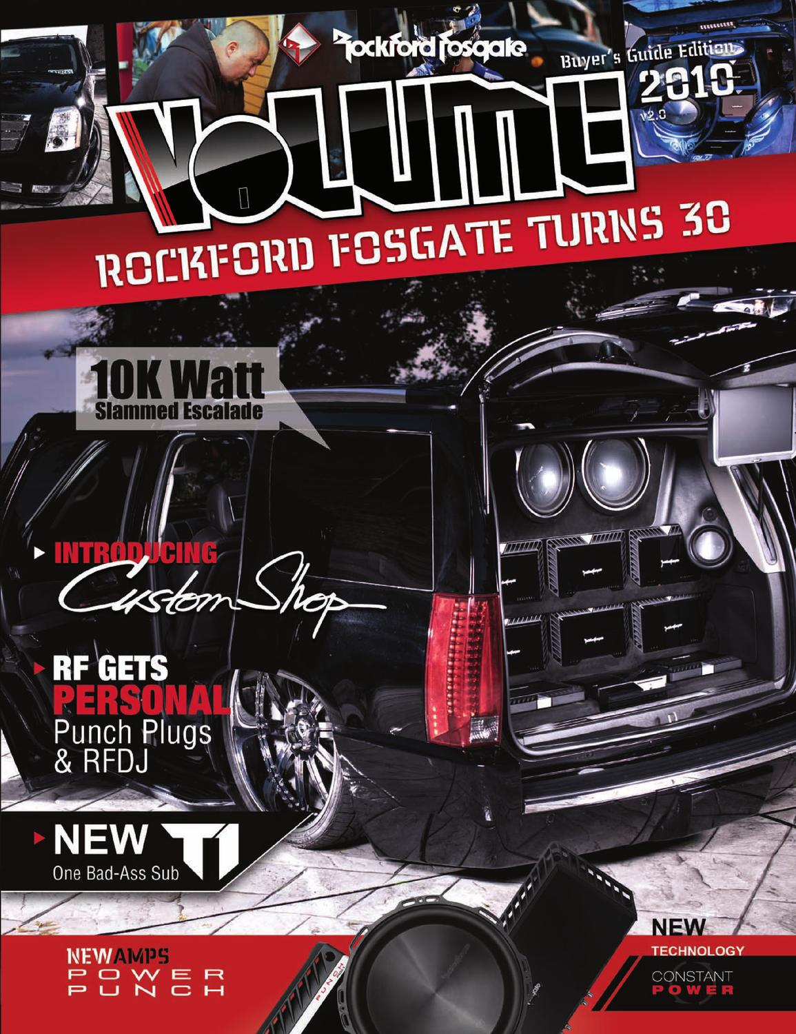 Volume 2010 by Rockford Fosgate - issuu