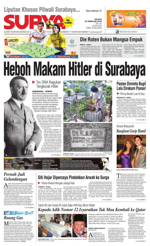 Surya Edisi Cetak 23 Feb 2010 by Harian SURYA - issuu 59a8fbec9b