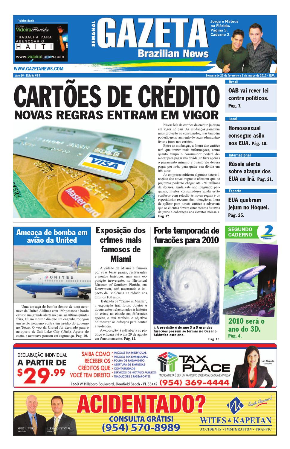 93fbe1204405f Gazeta Brazilian News - Edição 664 by Gazeta Brazilian News - issuu
