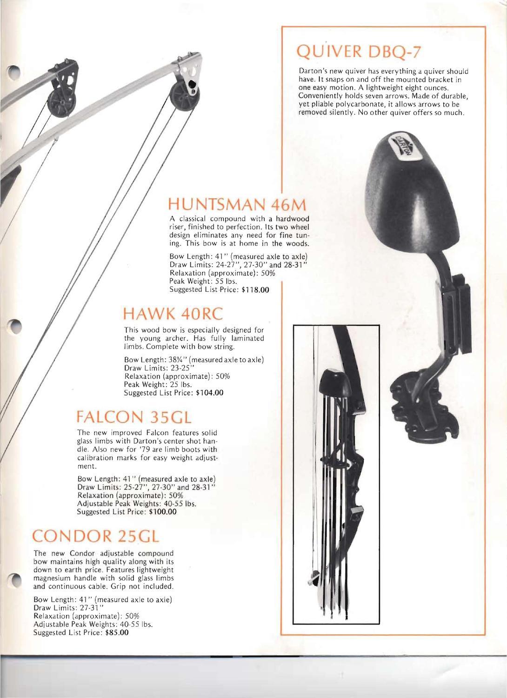 1979 Darton Product Catalog by Darton Archery - issuu