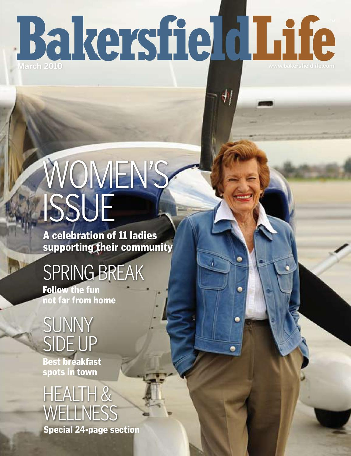 Bakersfield Life Magazine March 2010 by TBC Media Specialty Publications -  issuu