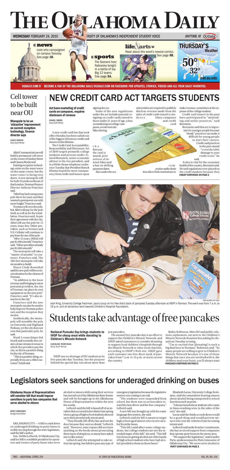 The Oklahoma Daily by OU Daily - issuu