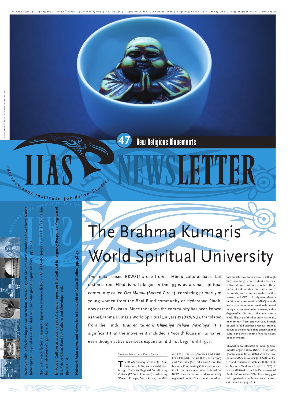 Iias Newsletter 47 By International Institute For Asian Studies Issuu Tendencies Kaos Always 420 Putih M