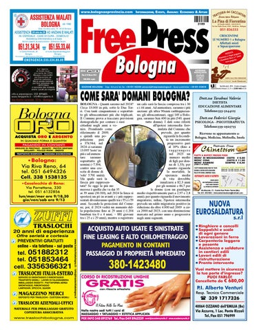 FreePress 156 by La Tribuna srls - issuu b7136fed6a76
