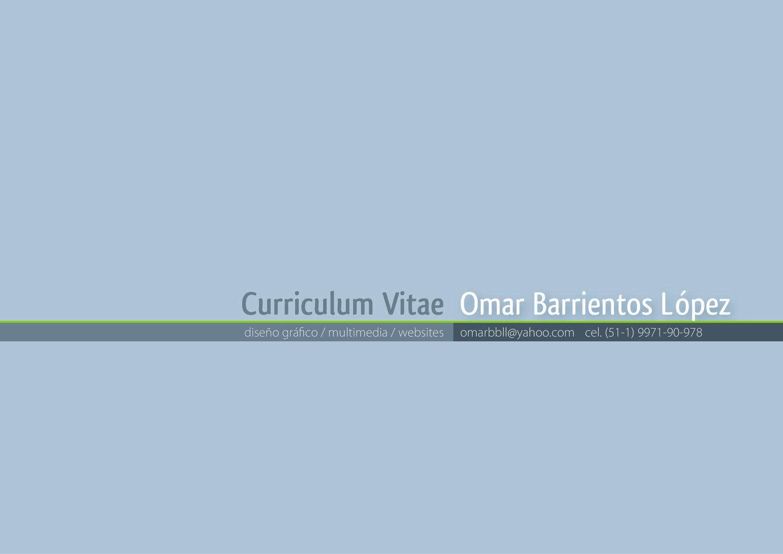 C.V. by Omar Barrientos - issuu