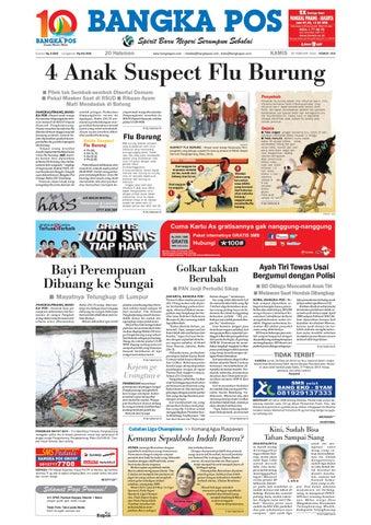 Harian Pagi Bangka Pos Edisi 25 Februari 2010 by bangka pos - issuu 6ab57189a4