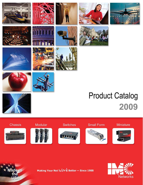 IMC Networks McGigabit 1000Mbps Copper to 1000Mbps Fiber Converter 855-12691