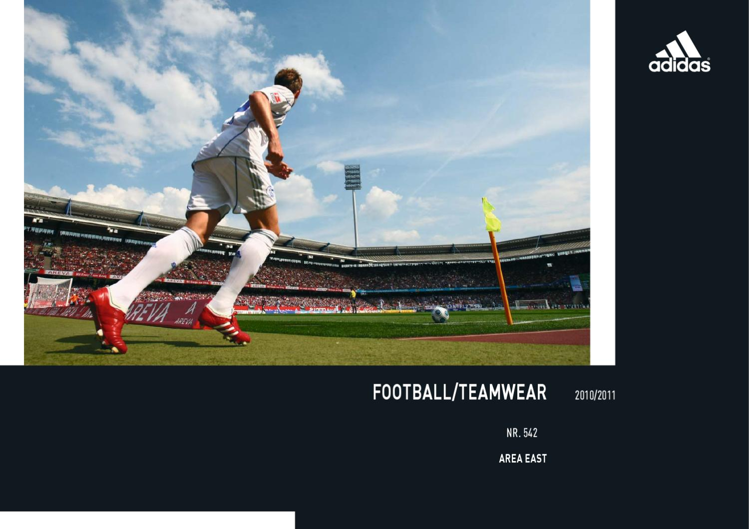 Adidas Teamwear cataloque 1011 by Michal Andel issuu