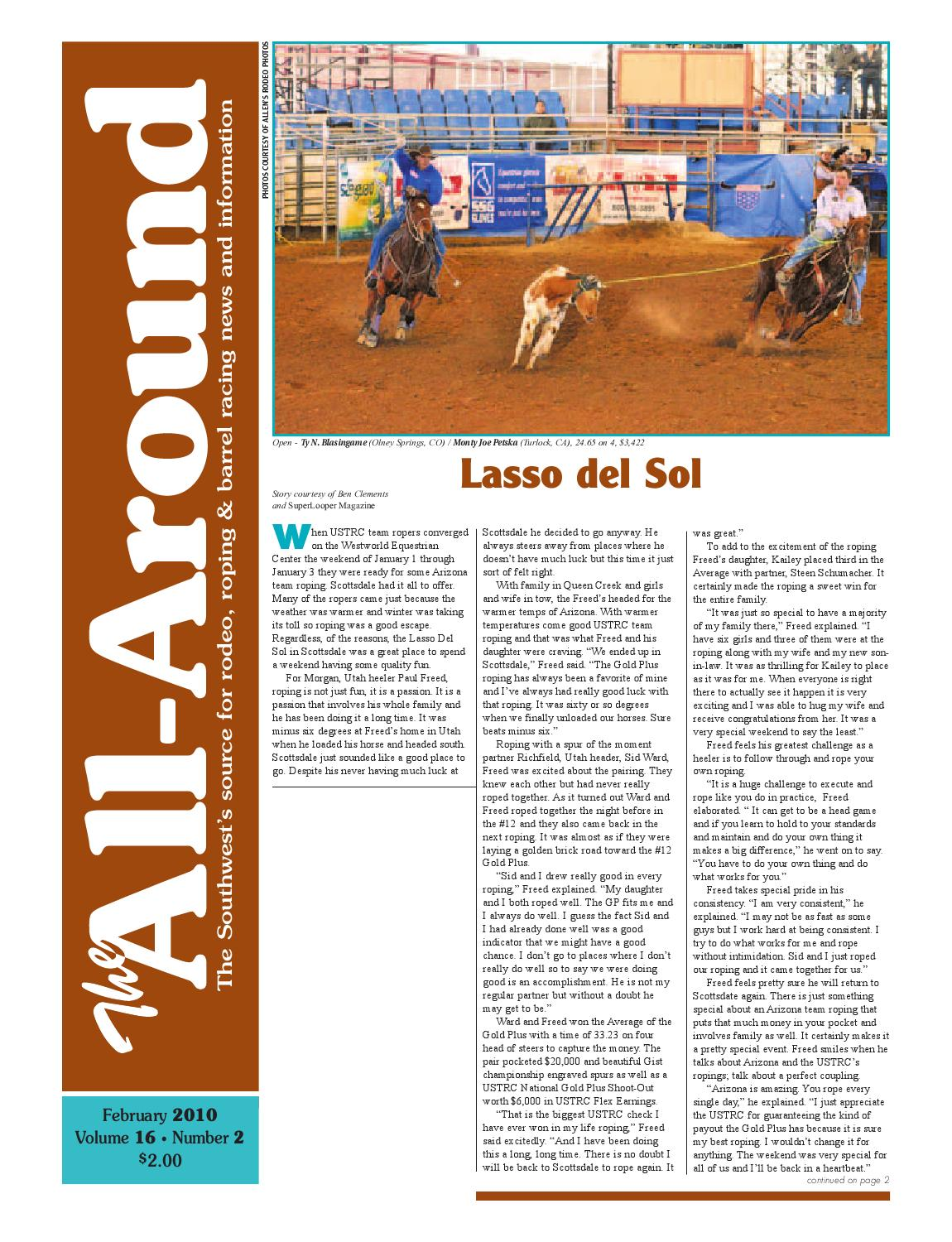 4ee62f073 The All Around-Feb 2010 by Western Sports Publishing - issuu