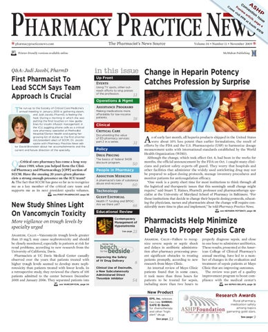 pharmacy practice news november 2009 digital edition by mcmahon