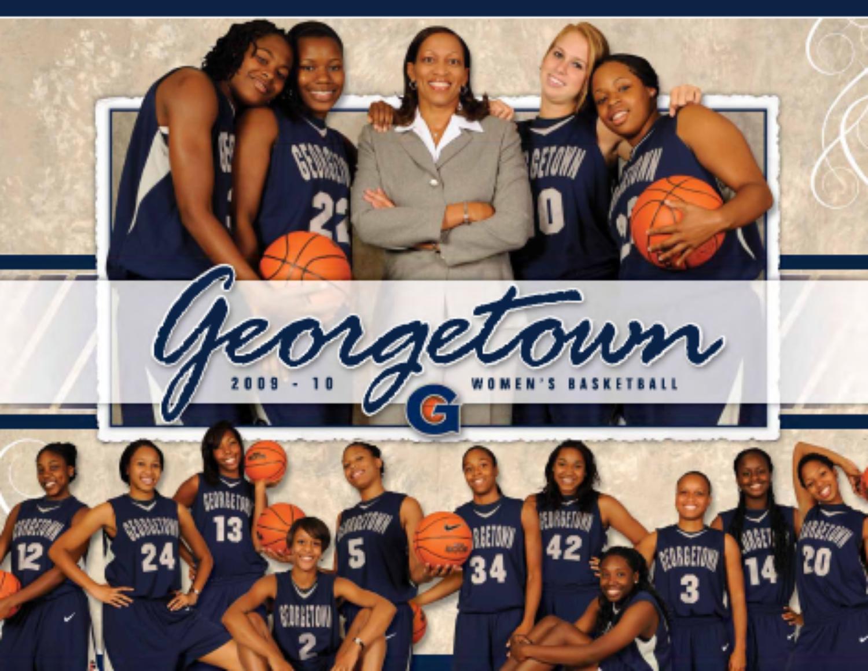 2009-10 Georgetown Women's Basketball Media Guide by Georgetown University Athletics - Issuu
