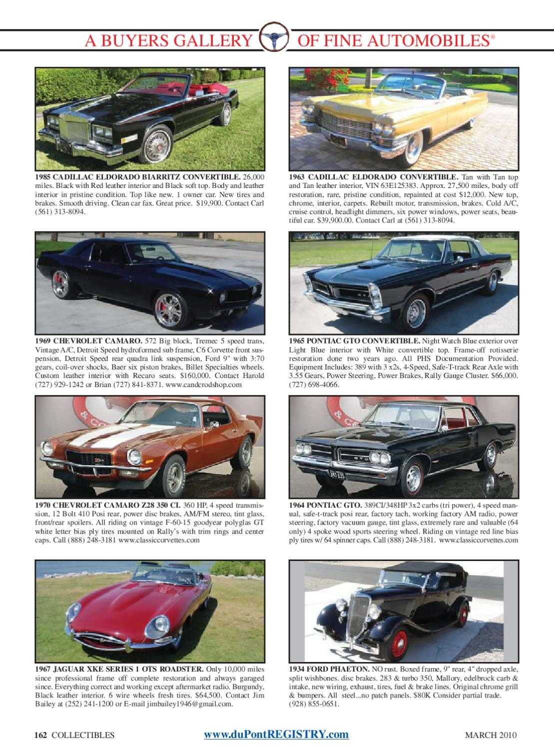 duPontREGISTRY Autos March 2010 by duPont REGISTRY - issuu