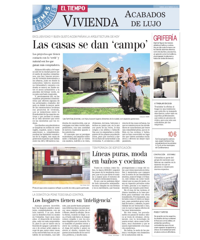 PUBLICACION ESPECIAL VIVIENDA ACABADOS DE LUJO by demo demo - issuu