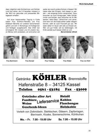 Ungewöhnlich Getränke Köhler Kassel Bilder - Innenarchitektur ...