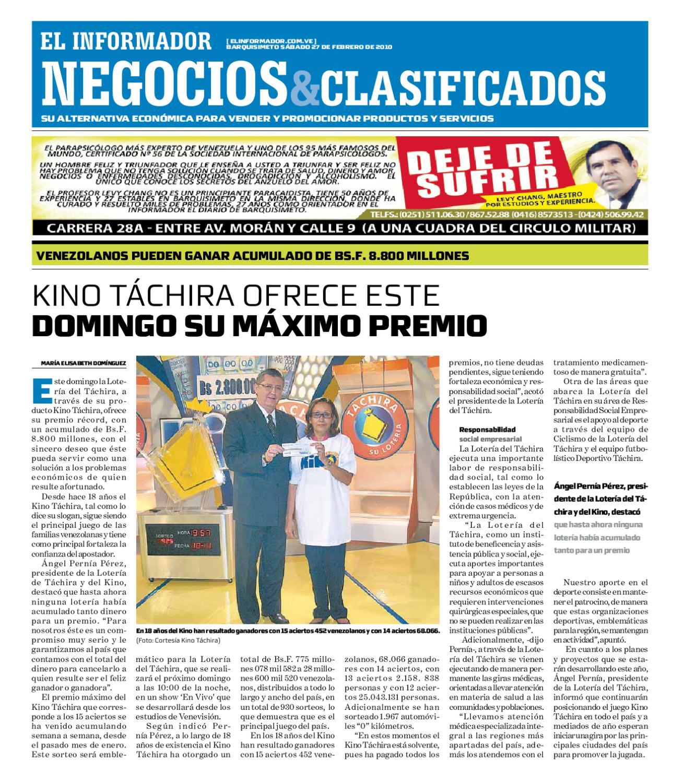negocios y clasificados 2010 02 27 by El Informador Diario online
