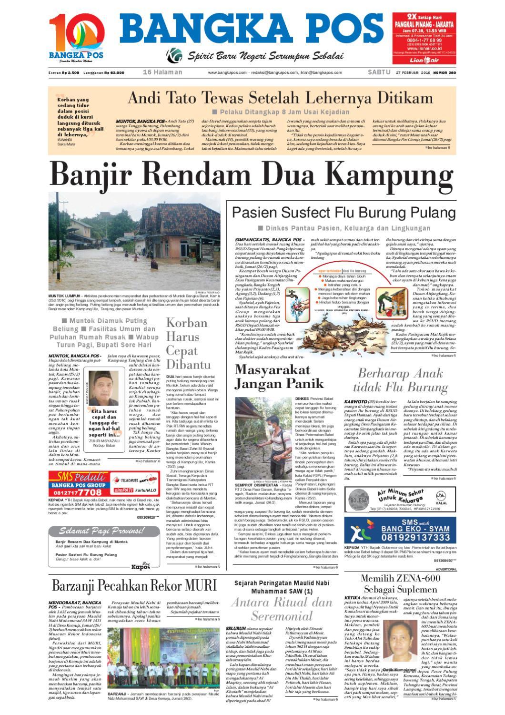 Harian Pagi Bangka Pos Edisi 27 Februari 2010 by bangka pos - issuu b7a7a30ec3