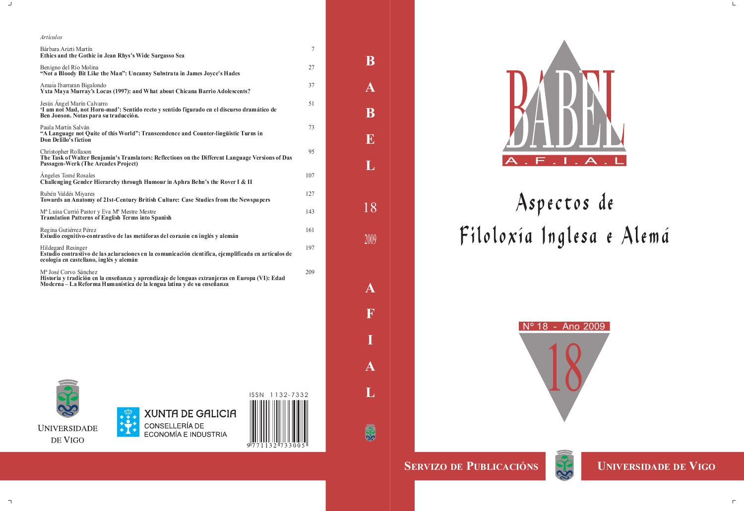 Babel Afial Nº 18 By Babel Afial Issuu
