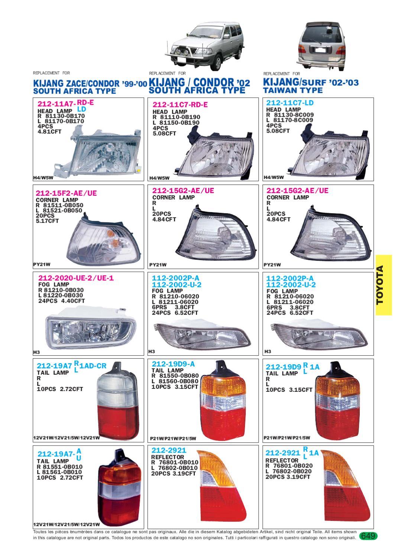 Http Lucidhu Lucid Katalog Toyota By Colonianet Head Lamp Kijang 1997 Fog Issuu