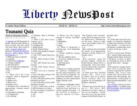 E-reader News Edition