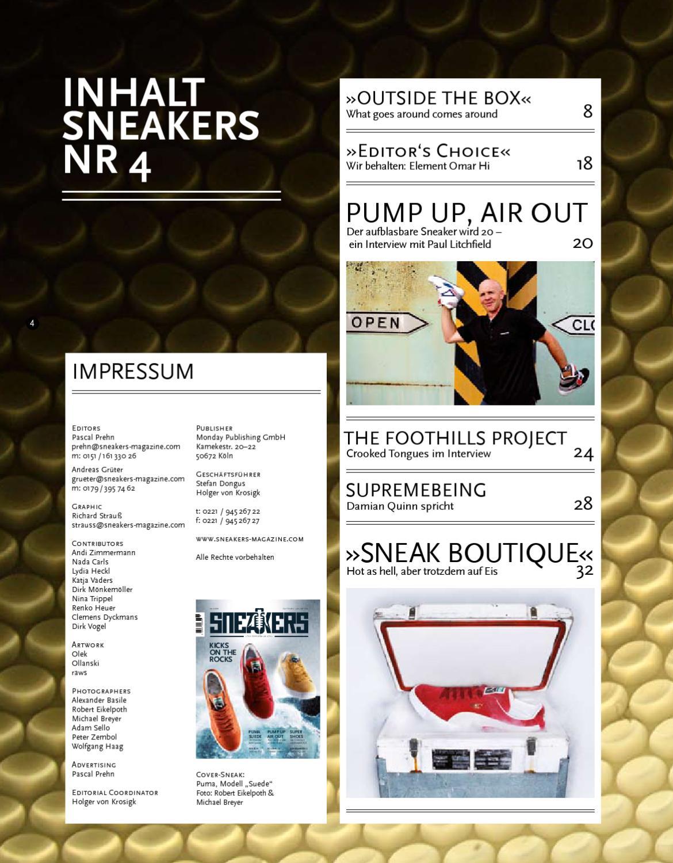 Sneakers Issue Nr. 4 by holger von krosigk issuu