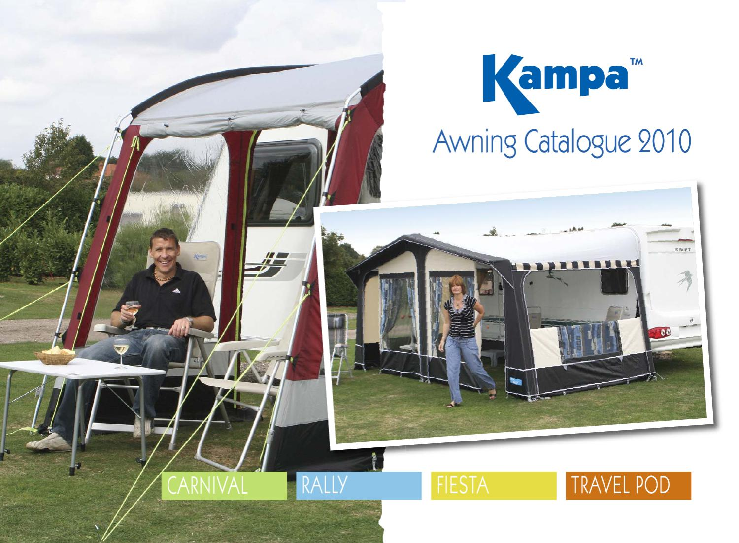 Kampa Awning Catalogue 2010 By Jon Shepherd
