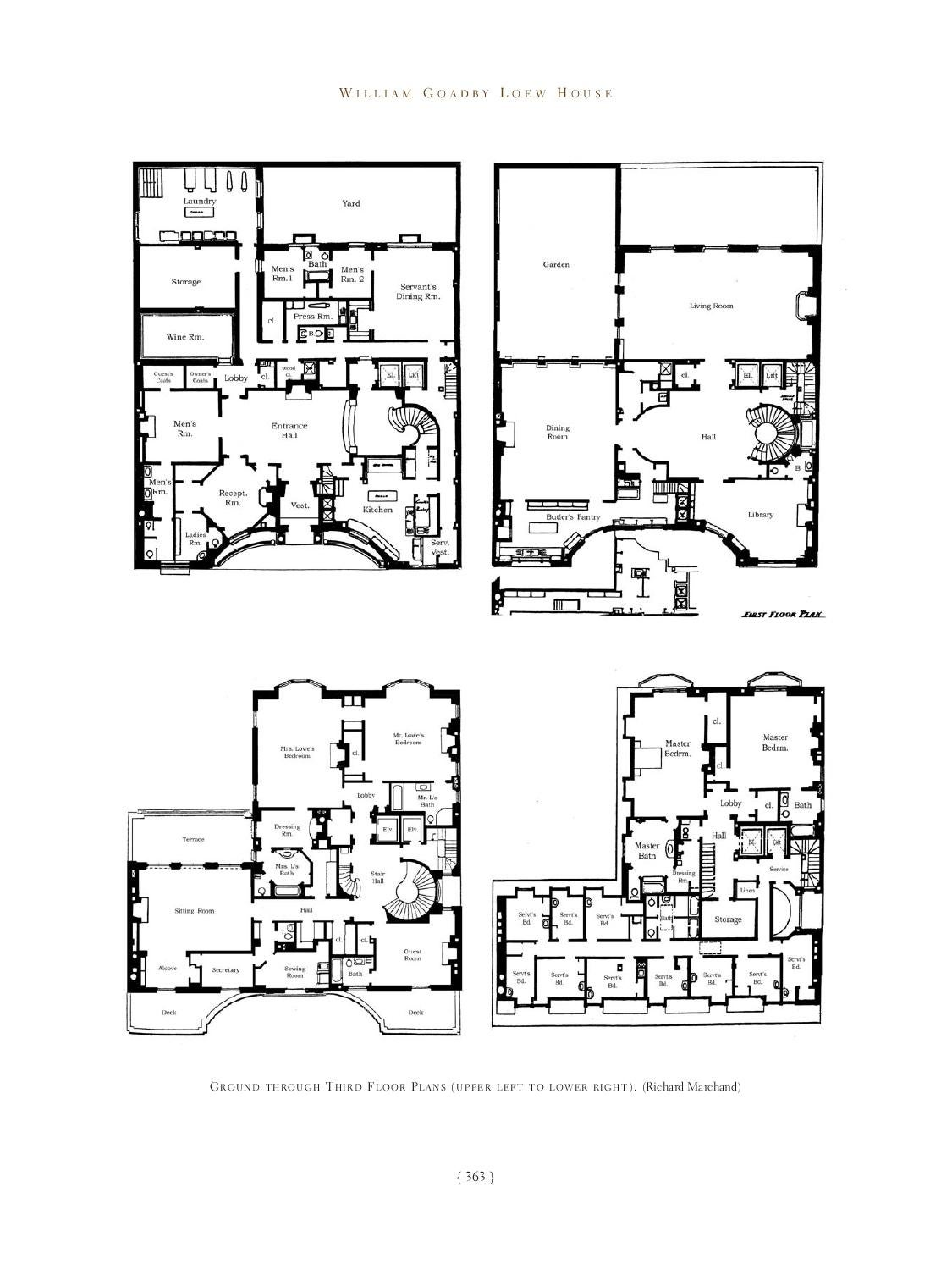 Great houses of new york by acanthus press llc issuu for New york house plans