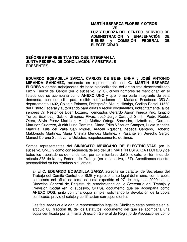 Demanda Por Despido Injustificado By Radio Sme Issuu