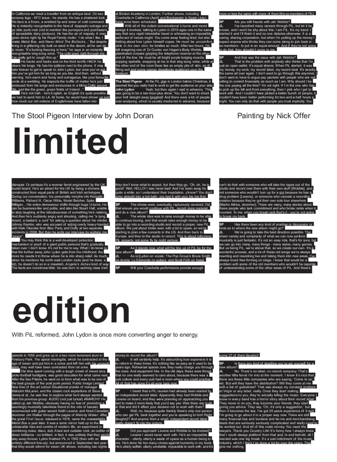 The Stool Pigeon Music Newspaper Issue 025 By Issuu Leds In Parallel Cannot Be Placed Until