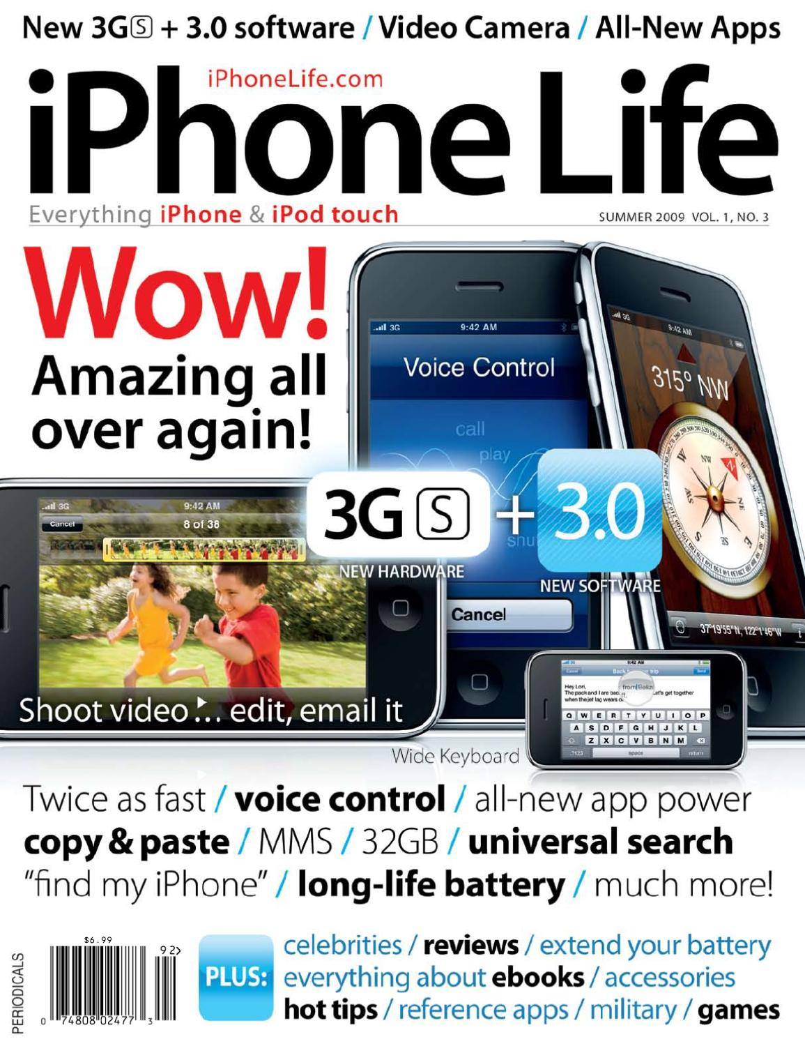 iphone life vol1 no3 2009 by iphone repair services issuu