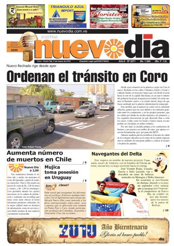6adcd240a204 Diario Nuevodia Martes 02-03-2010 by Diario Nuevo Día - issuu