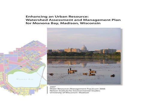 103 In Shade Along Lake Wingra >> Watershed Assessment And Management Plan By M Ples Issuu
