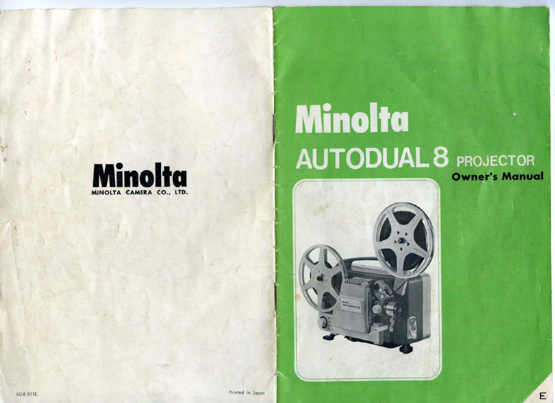 minolta autodual 8 projector by filmmaker8 issuu rh issuu com Pull Down Projector Screen Optical Projector