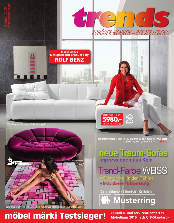 Moebel Maerki Katalog Fruehling 2010 By Markus Frey Issuu