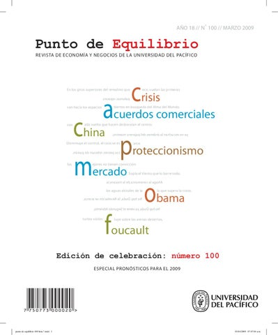 8cdc8abce19 Punto de Equilibrio N°100 by Universidad del Pacífico Formamos ...