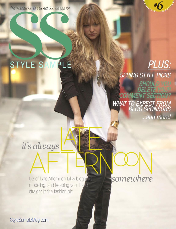 e6550442f1ba Style Sample Magazine Issue  6 by Style Sample Magazine - issuu