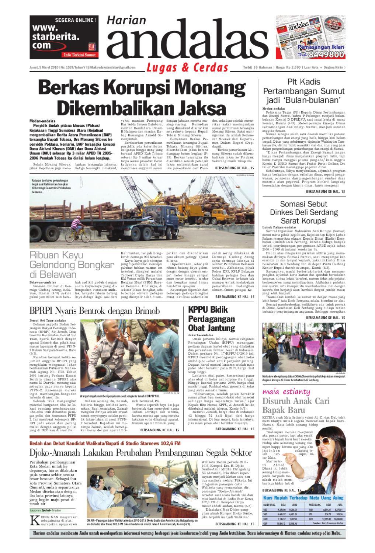 Harian Andalas By Issuu Jam Tangan Qampampq A170 Original Bergaransi