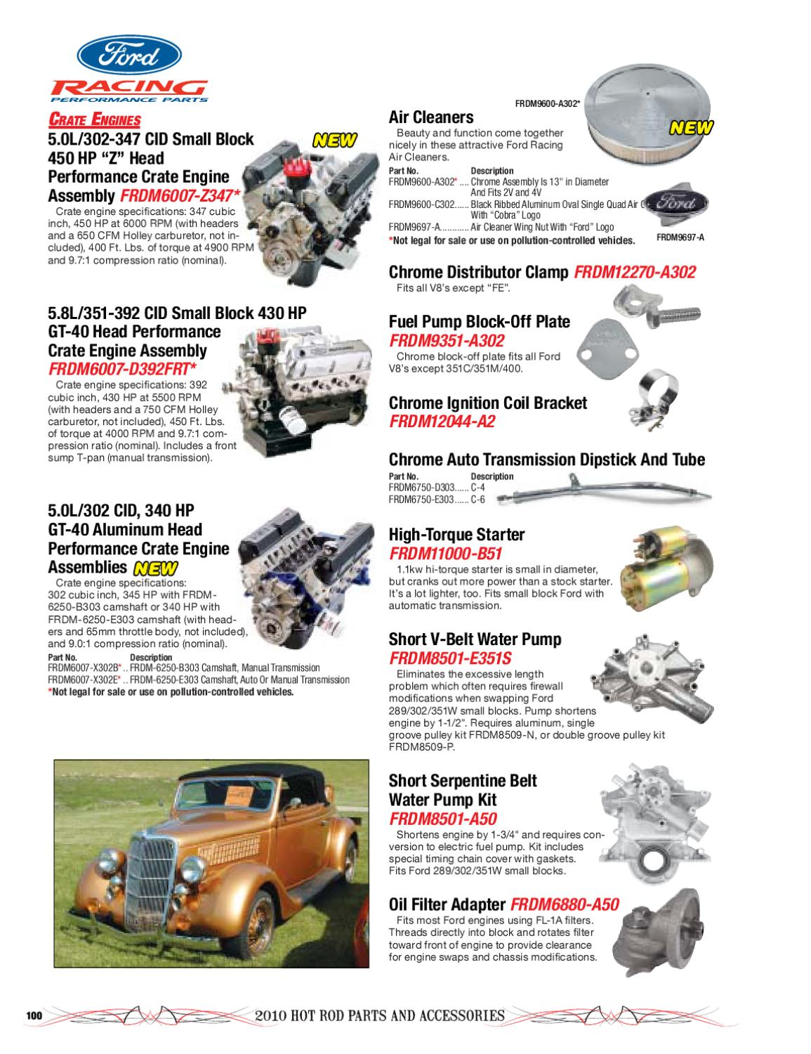 2010 Hot Rod Catalog by Timothy Meyer - issuu