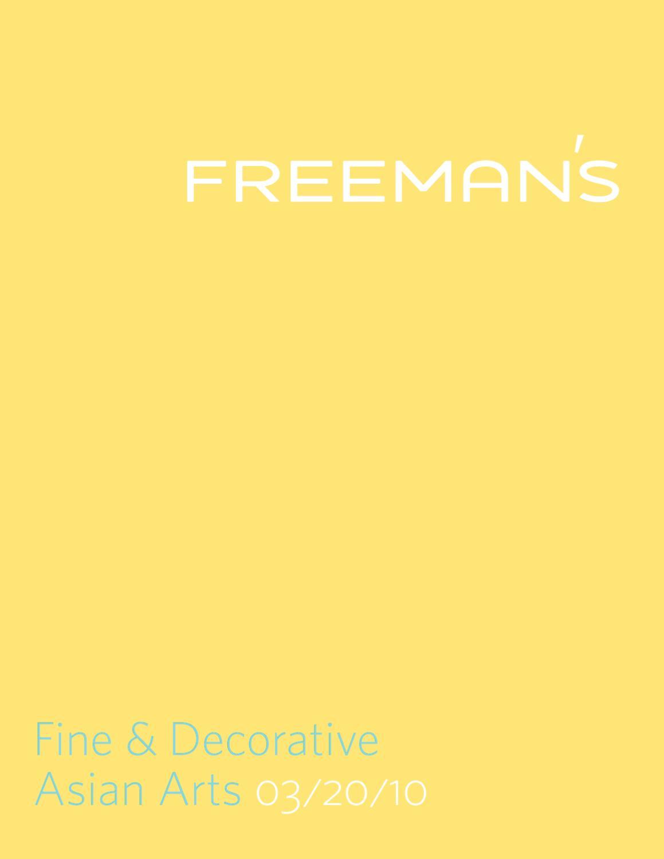 Fine & Decorative Asian Arts by Freeman\'s - issuu