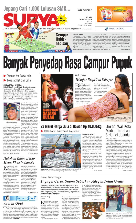 Surya Edisi Cetak 09 Maret 2010 By Harian Issuu Kopi Bubuk Hitam Kapal Api Tanpa Gula 10x6 5 Gram