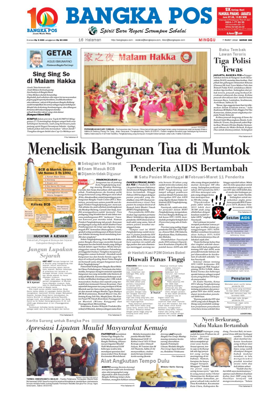 Harian Pagi Bangka Pos Edisi 07 Maret 2010 By Issuu Parcel Keramik Pja 1644