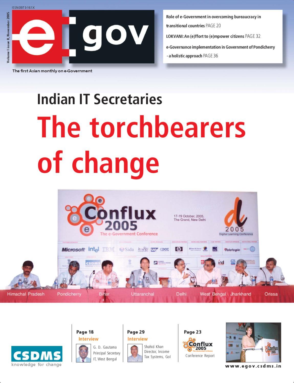 Indian IT Secretaries - The torchbearers of change