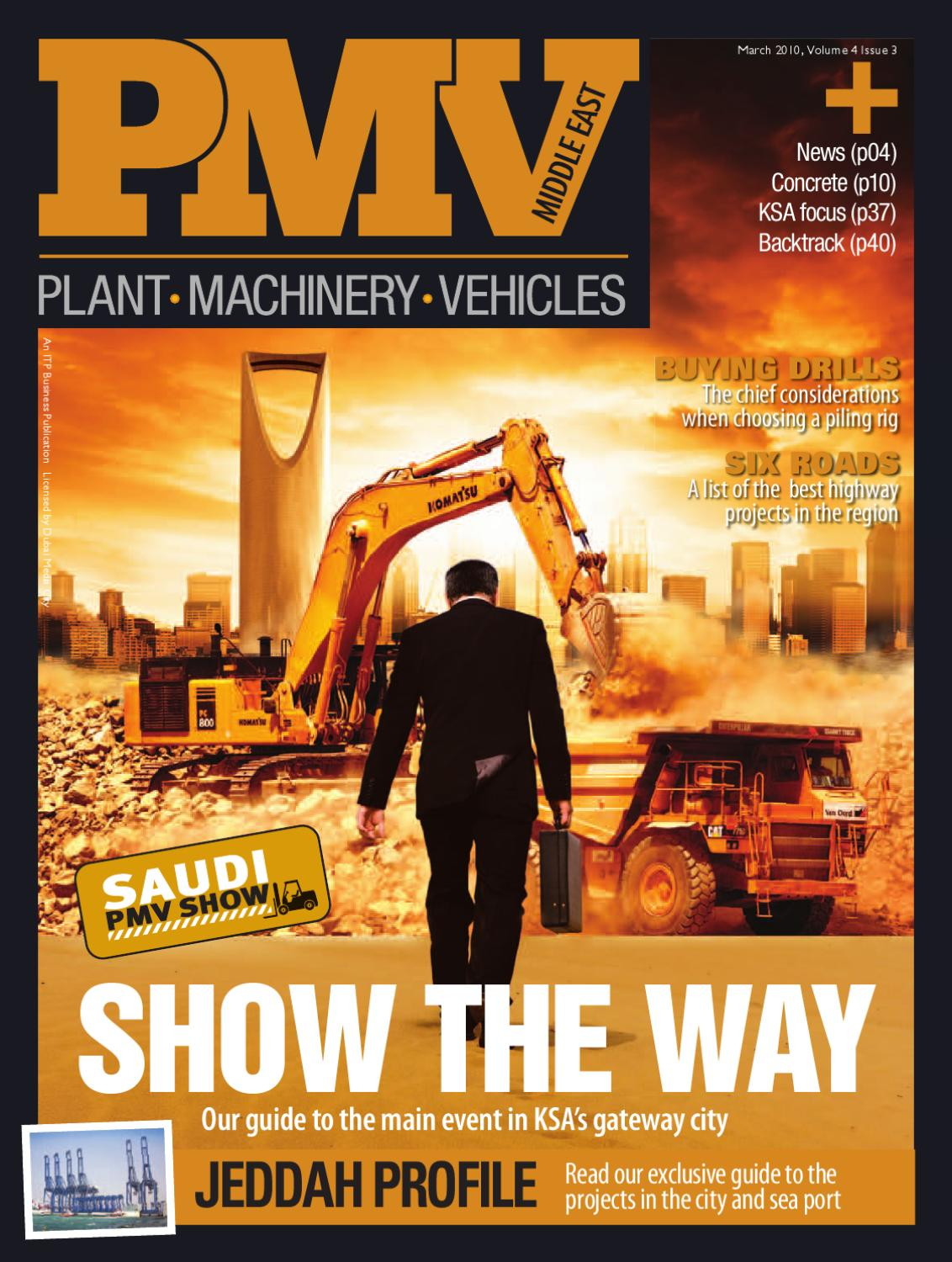 PMV Middle East - March 2010 by ITP Business Publishing - issuu