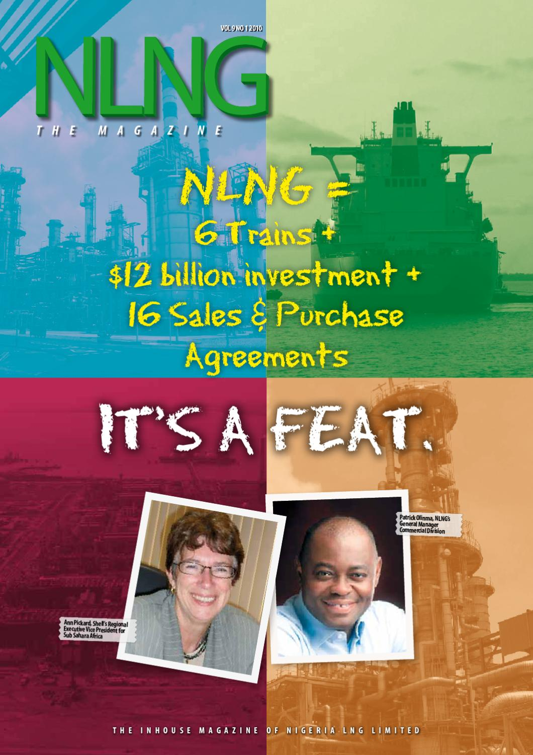 NLNG - The Magazine 2010 Edition 1 by Nigeria LNG Limited