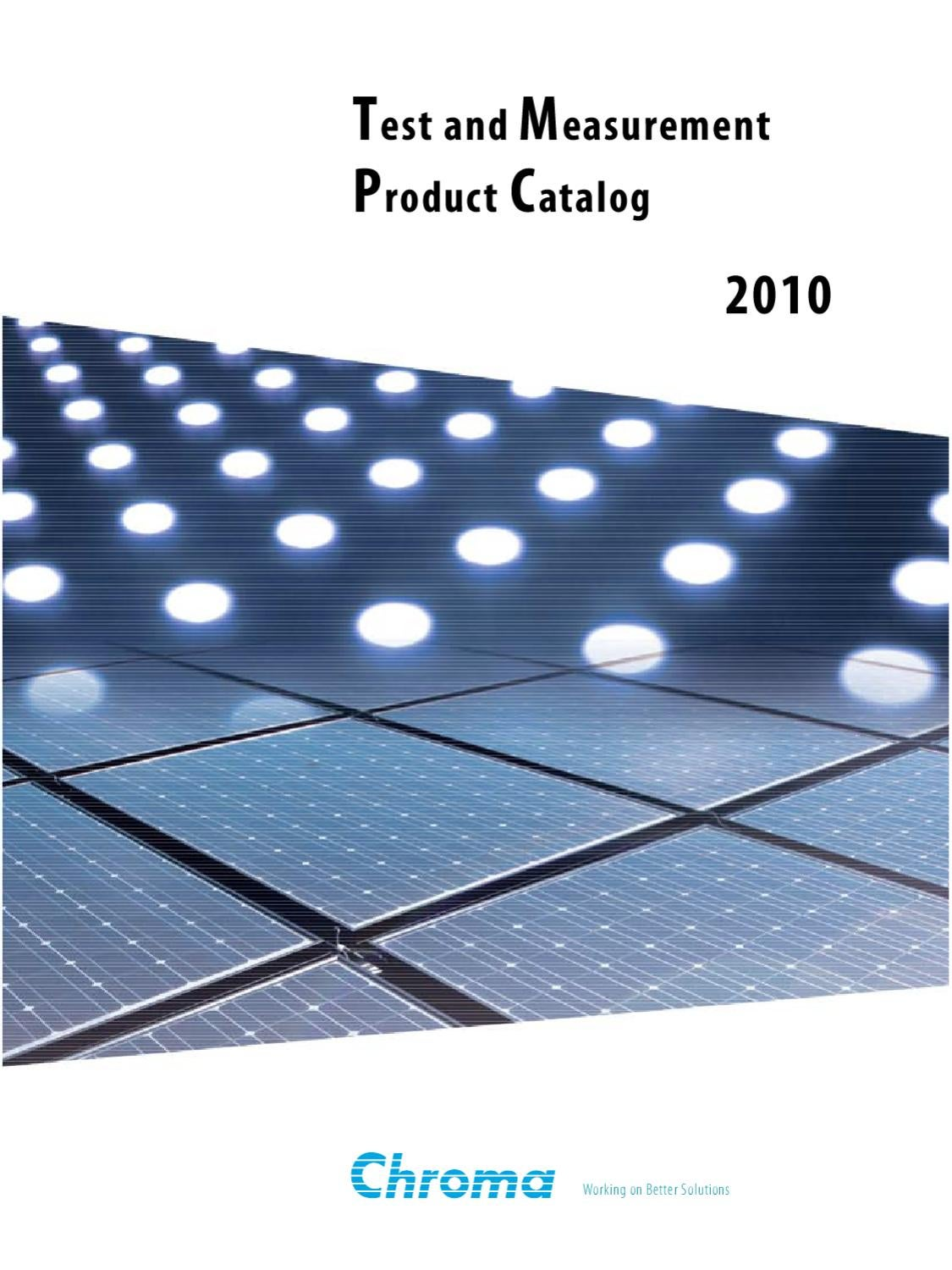 2010 Chroma Product Catalog by Scott