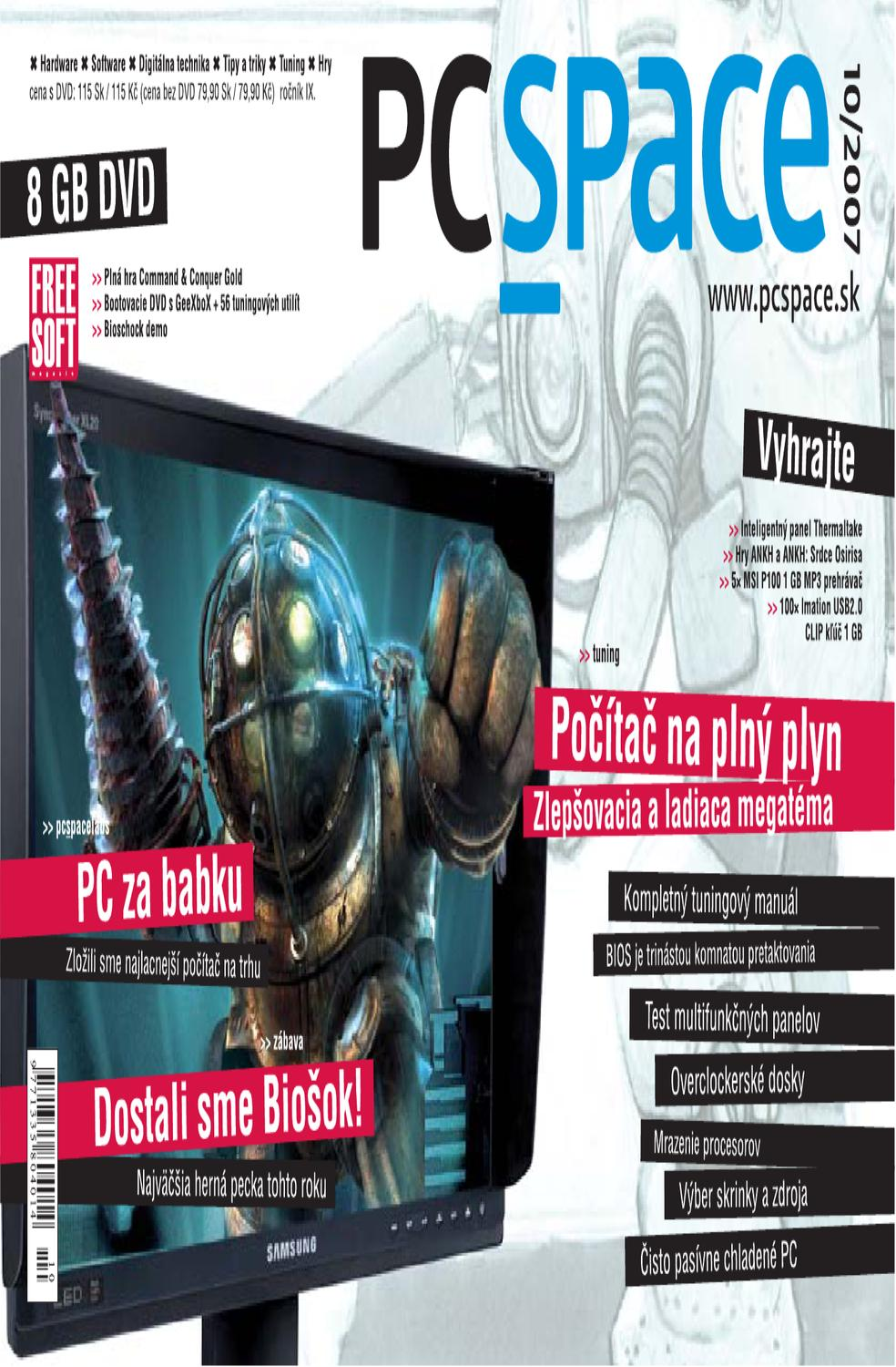 2007-10 by PC Space s.r.o. - issuu 0c4a0fc13a1